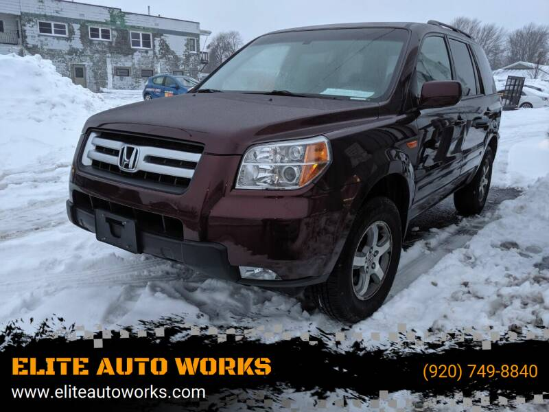 2008 Honda Pilot for sale at ELITE AUTO WORKS - Inventory in Appleton WI