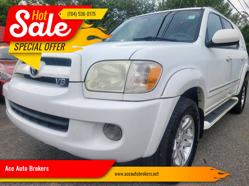 2007 Toyota Sequoia for sale at Ace Auto Brokers in Charlotte NC