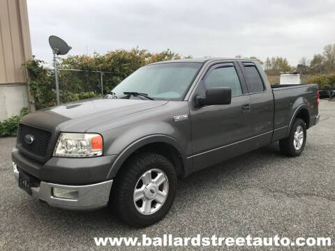 2004 Ford F-150 for sale at Ballard Street Auto in Saugus MA