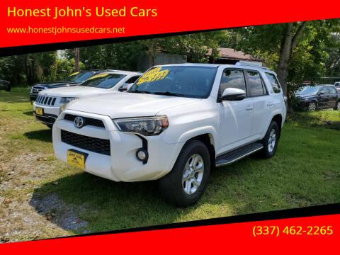 2014 Toyota 4Runner for sale at Honest John's Used Cars in Deridder LA