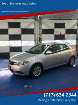 2012 Kia Forte for sale at South Hanover Auto Sales in Hanover PA