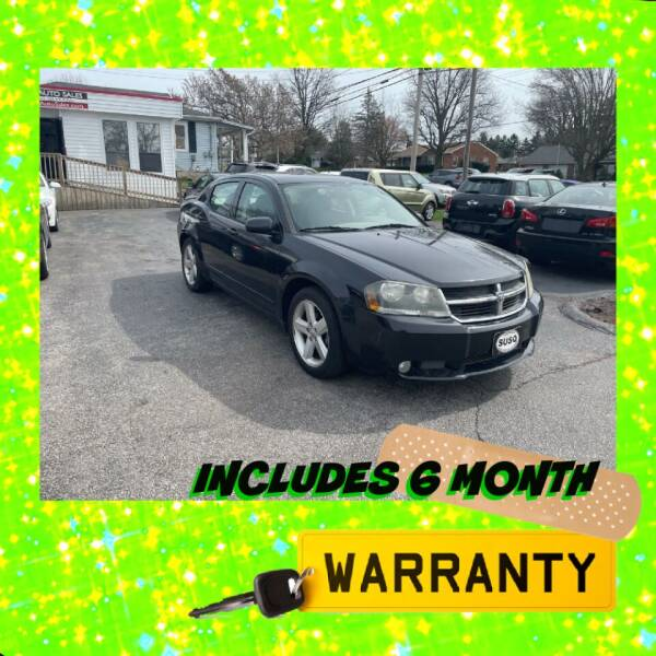2008 Dodge Avenger for sale at LAUER BROTHERS AUTO SALES in Dover PA