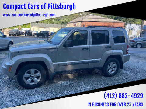 2011 Jeep Liberty for sale at Compact Cars of Pittsburgh in Pittsburgh PA