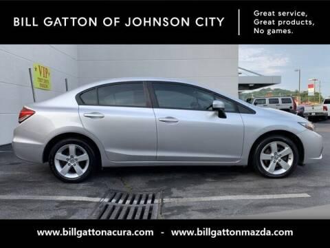 2015 Honda Civic for sale at Bill Gatton Used Cars - BILL GATTON ACURA MAZDA in Johnson City TN