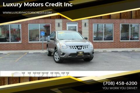2012 Nissan Rogue for sale at Luxury Motors Credit Inc in Bridgeview IL