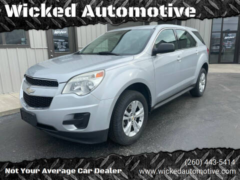 2011 Chevrolet Equinox for sale at Wicked Automotive in Fort Wayne IN