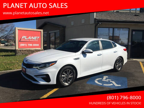 2020 Kia Optima for sale at PLANET AUTO SALES in Lindon UT