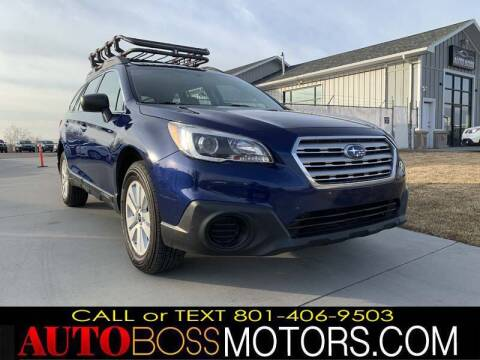 2017 Subaru Outback for sale at Auto Boss in Woodscross UT