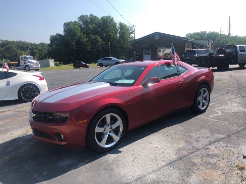 2013 Chevrolet Camaro for sale at Mikes Auto Sales INC in Forest City NC