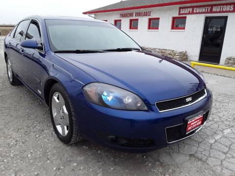 2006 Chevrolet Impala for sale at Sarpy County Motors in Springfield NE