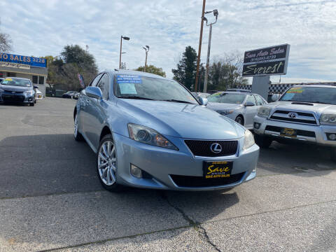 2006 Lexus IS 250 for sale at Save Auto Sales in Sacramento CA