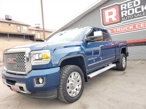 2016 GMC Sierra 2500HD for sale at Red Rock Auto Sales in Saint George UT
