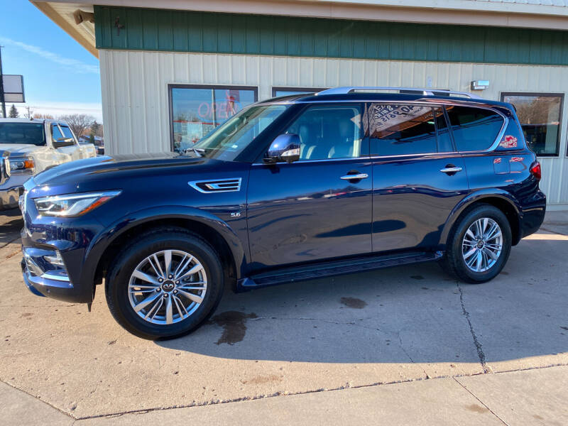 2019 Infiniti QX80 for sale at Murphy Motors Next To New Minot in Minot ND