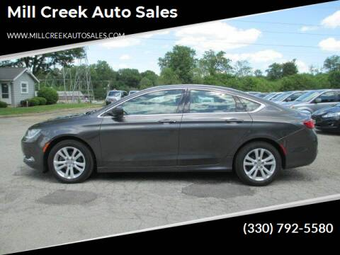 2015 Chrysler 200 for sale at Mill Creek Auto Sales in Youngstown OH