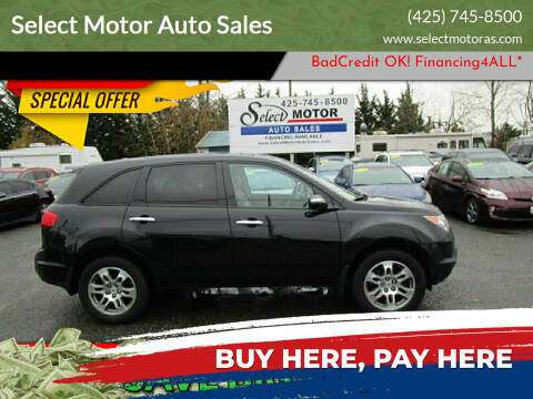 2008 Acura MDX for sale at Select Motor Auto Sales in Lynnwood WA