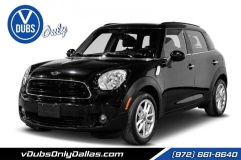 2016 MINI Countryman for sale at VDUBS ONLY in Dallas TX