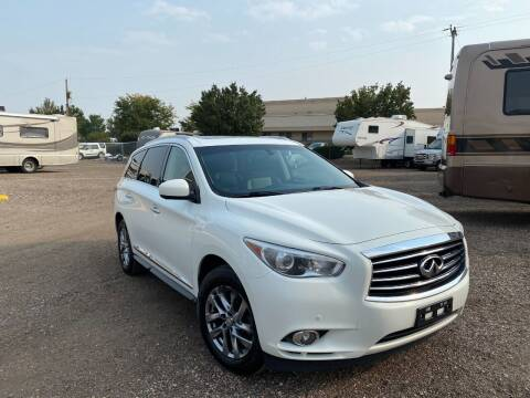 2013 Infiniti JX35 for sale at NOCO RV Sales in Loveland CO