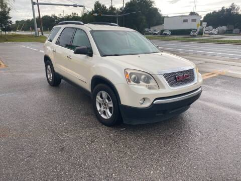 2008 GMC Acadia for sale at Nash's Auto Sales Used Car Dealer in Milton FL