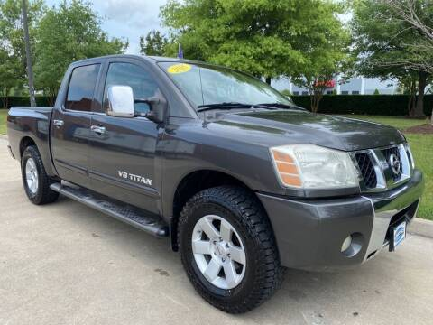 2005 Nissan Titan for sale at UNITED AUTO WHOLESALERS LLC in Portsmouth VA