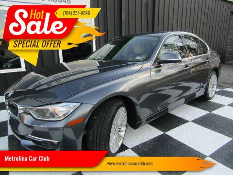 2015 BMW 3 Series for sale at Metrolina Car Club in Matthews NC