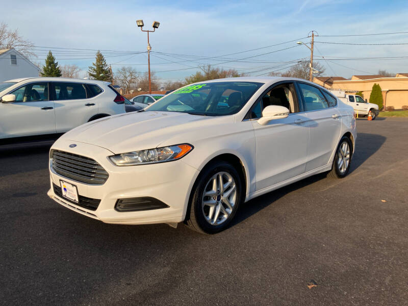 2016 Ford Fusion for sale at Majestic Automotive Group in Cinnaminson NJ