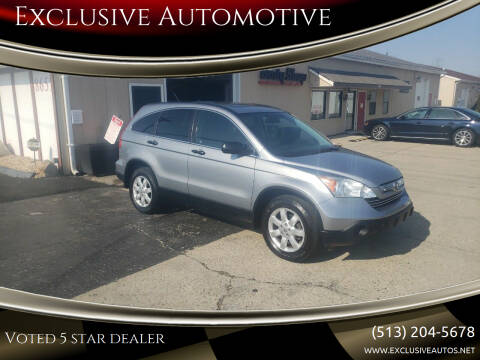 2008 Honda CR-V for sale at Exclusive Automotive in West Chester OH