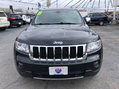 2011 Jeep Grand Cherokee for sale at I-80 Auto Sales in Hazel Crest IL