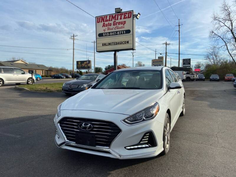 2018 Hyundai Sonata for sale at Unlimited Auto Group in West Chester OH