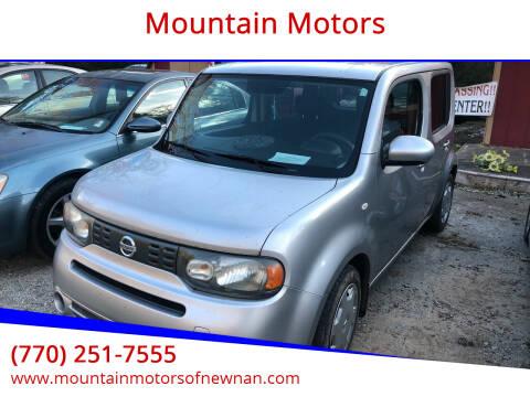 2009 Nissan cube for sale at Mountain Motors in Newnan GA