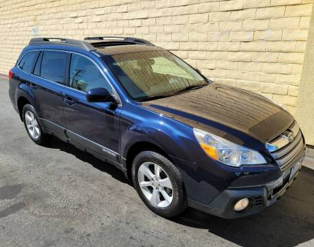 2014 Subaru Outback for sale at Cars To Go in Sacramento CA