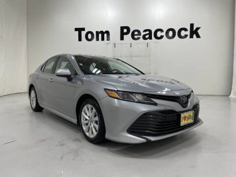 2019 Toyota Camry for sale at Tom Peacock Nissan (i45used.com) in Houston TX