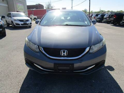 2013 Honda Civic for sale at DERIK HARE in Milton FL