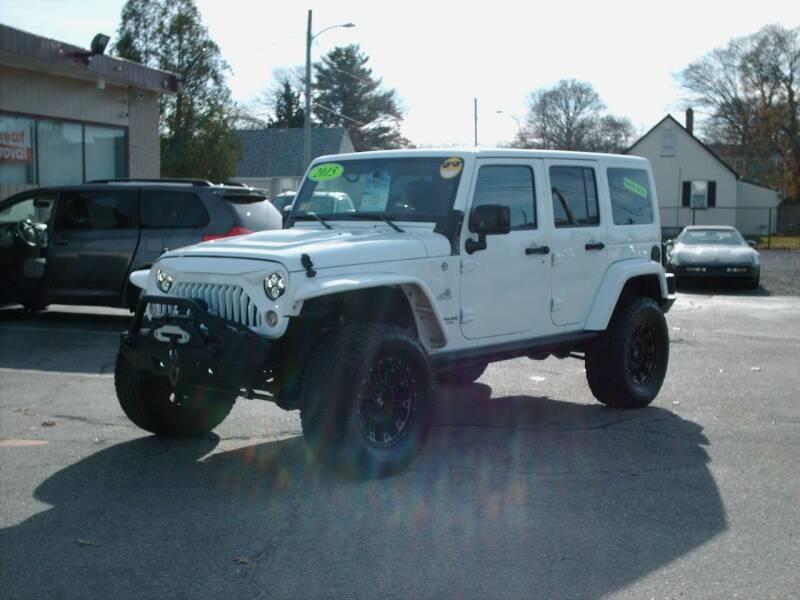 2015 Jeep Wrangler Unlimited for sale at Bill Caito's Mann Motors in Warwick RI