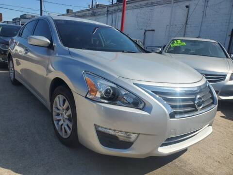 2015 Nissan Altima for sale at USA Auto Brokers in Houston TX