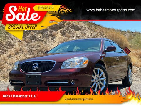 2006 Buick Lucerne for sale at Baba's Motorsports, LLC in Phoenix AZ