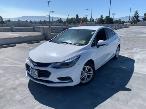 2016 Chevrolet Cruze for sale at BAY AREA CAR SALES in San Jose CA