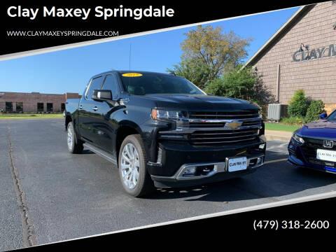 2019 Chevrolet Silverado 1500 for sale at Clay Maxey Springdale in Springdale AR