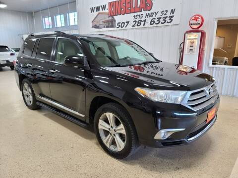 2012 Toyota Highlander for sale at Kinsellas Auto Sales in Rochester MN
