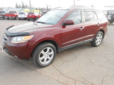 2008 Hyundai Santa Fe for sale at Salmon Automotive Inc. in Tracy MN