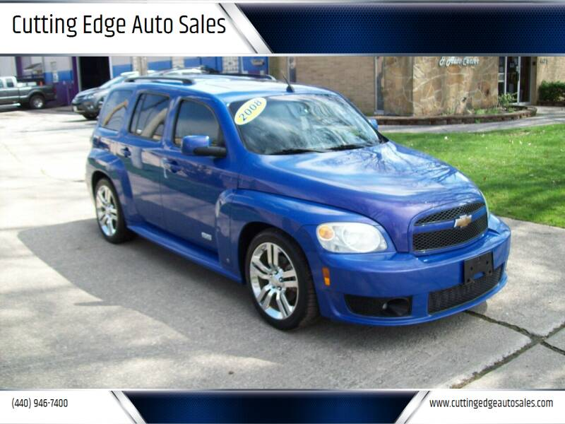 2008 Chevrolet HHR for sale at Cutting Edge Auto Sales in Willoughby OH