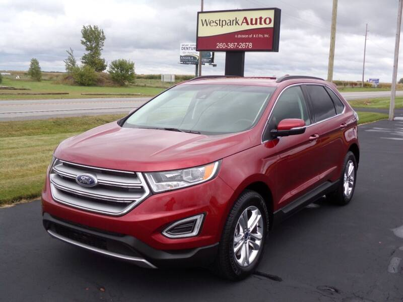 2018 Ford Edge for sale at Westpark Auto in Lagrange IN