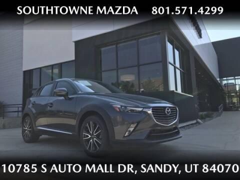 2016 Mazda CX-3 for sale at Southtowne Mazda of Sandy in Sandy UT