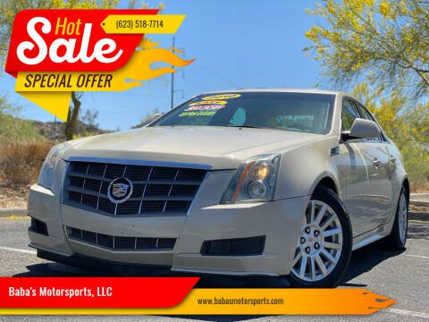 2010 Cadillac CTS for sale at Baba's Motorsports, LLC in Phoenix AZ