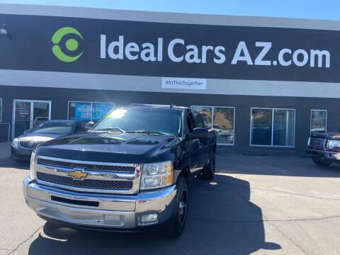 2012 Chevrolet Silverado 1500 for sale at Ideal Cars in Mesa AZ