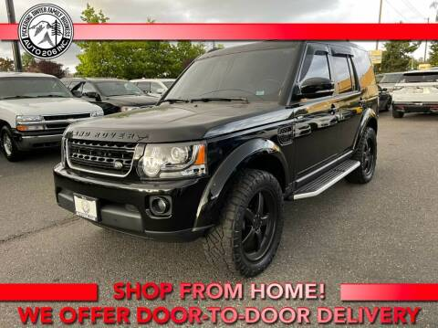 2015 Land Rover LR4 for sale at Auto 206, Inc. in Kent WA
