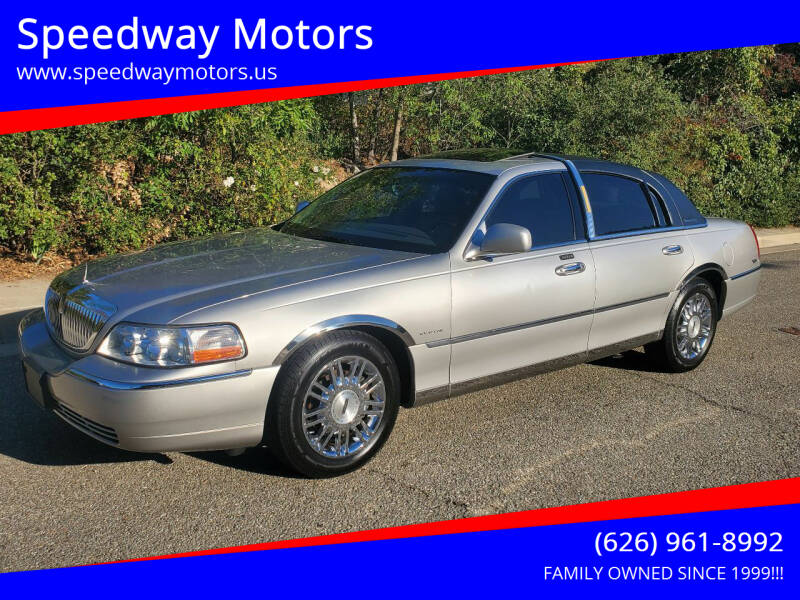 2006 Lincoln Town Car for sale at Speedway Motors in Glendora CA