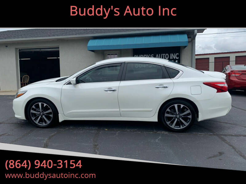 2016 Nissan Altima for sale at Buddy's Auto Inc in Pendleton, SC