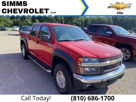 2006 Chevrolet Colorado for sale at Aaron Adams @ Simms Chevrolet in Clio MI