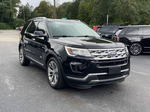 2018 Ford Explorer for sale at Luxury Auto Innovations in Flowery Branch GA