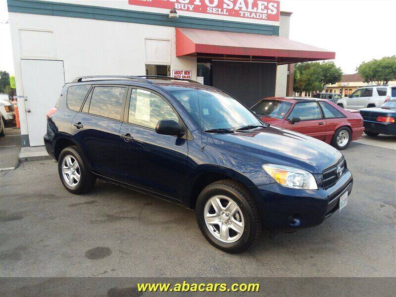 2006 Toyota RAV4 for sale at About New Auto Sales in Lincoln CA